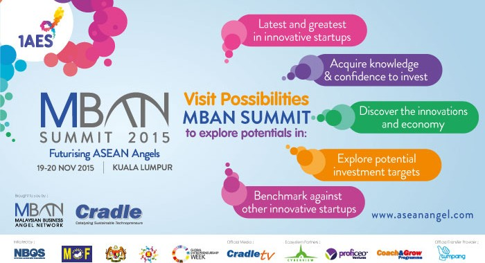 MBAN ups awareness through Futurising Asean Angels Summit 2015.